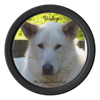 Wiley, superviviente de GCACS Juego De Fichas De Póquer