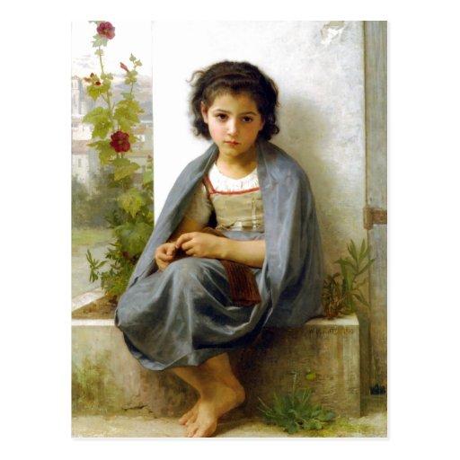 William-Adolphe Bouguereau (1825-1905) - el Littl Tarjetas Postales