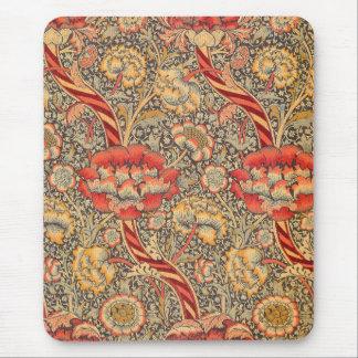 William Morris Wandle para el diseño de la zaraza Alfombrilla De Ratón