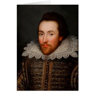William Shakespeare Tarjeta