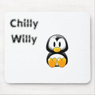 Willy frío alfombrilla de ratón