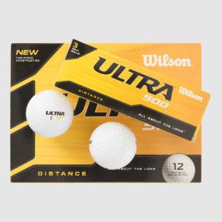 Wilson de encargo pelota de golf de ultra 500