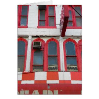 Windows rojo y blanco, Soho Tarjeta Pequeña