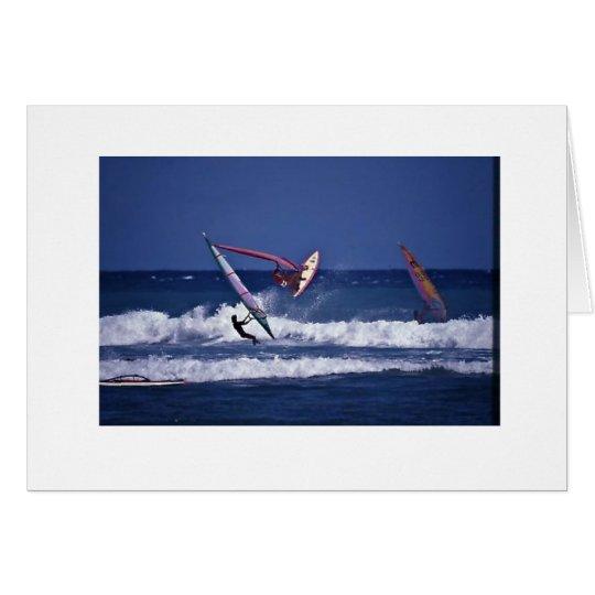 Windsurf Hawai'i Tarjeta Pequeña