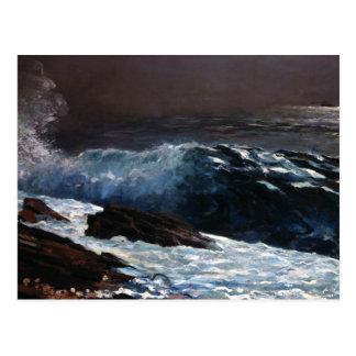 Winslow Homer - luz del sol en la costa Postal