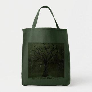 Wintertree va bolso verde bolsas