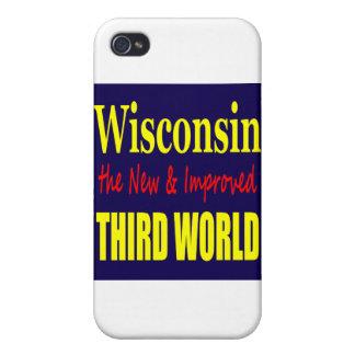 Wisconsin el TERCER MUNDO nuevo y mejorado iPhone 4/4S Funda