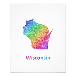 Wisconsin Folleto 11,4 X 14,2 Cm