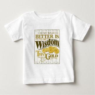 Wisdom_2 Camiseta De Bebé
