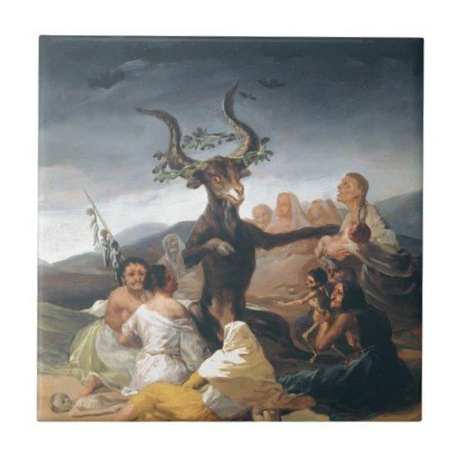 Witches Sabbath - Francisco de Goya (1797-1798) Tejas