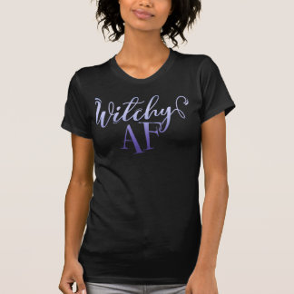 Witchy AF Halloween Camiseta