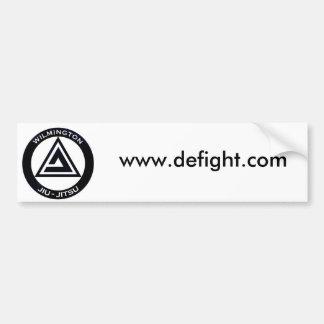 WJJ_ALLBLACK, www.defight.com Pegatina De Parachoque