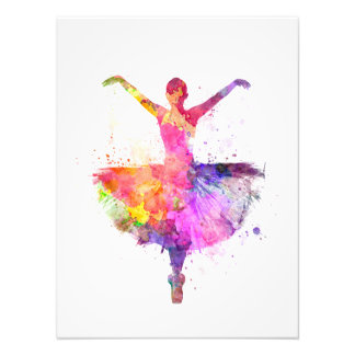 Woman ballerina ballet dancer dancing arte fotografico