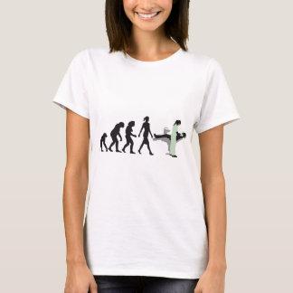woman female evolution of dentist camiseta