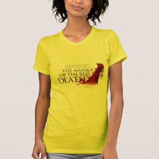 "Woman T-Shirt ""The Masque of the Red Death"" Camiseta"