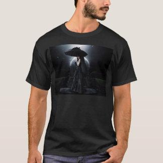 Women gothic moon camiseta