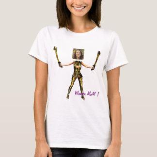 Wonder Fairy Princess, Swords - Insert YOUR Photo- Camiseta