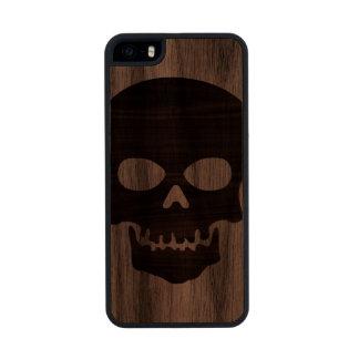 Wooden Skull Funda De Madera Para iPhone 5
