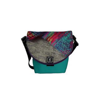 Wooley - la mini bolsa de mensajero del carrito bolsa de mensajería