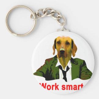 Work smart llavero redondo tipo chapa