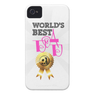 World s best dad iPhone 4 protector