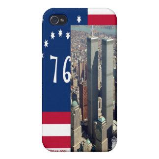 World Trade Center y alcohol del iPhone de la band iPhone 4 Fundas