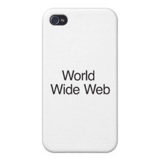 World Wide Web iPhone 4/4S Funda