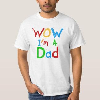 Wow soy camisetas y regalos de un papá