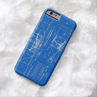 "Wright Bros. Modelo 1903 del ""aviador"" Funda De iPhone 6 Barely There"