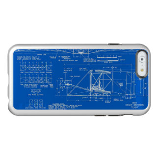 "Wright Bros. Modelo 1903 del ""aviador"" Funda Para iPhone 6 Plus Incipio Feather Shine"