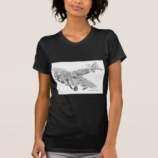 WW2 corte de la Royal Air Force Bristol Camisas