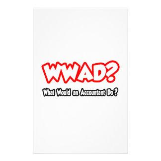 ¿WWAD… qué un contable haría? Papeleria Personalizada