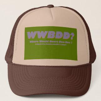 ¿WWBDD? ¿Donde doo-doo de los osos? Gorra De Camionero