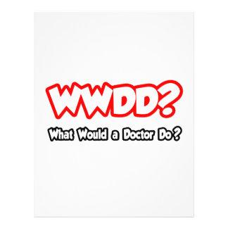 ¿WWDD… qué un doctor Do? Tarjetas Publicitarias