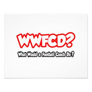 ¿WWFCD… qué un entrenador de fútbol haría? Comunicados