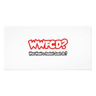 ¿WWFCD… qué un entrenador de fútbol haría Tarjetas Personales