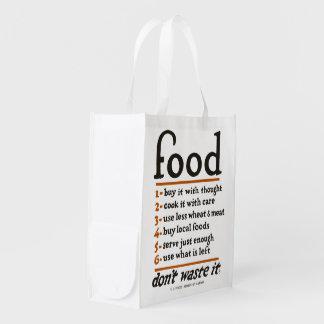 """WWI """"basura de la Comida-Don't él"""" bolso de"""