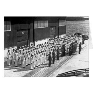 WWII: A bordo de USS Asheville (PF-1) Tarjeta