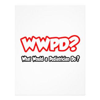 ¿WWPD… qué un pediatra haría? Flyer Personalizado