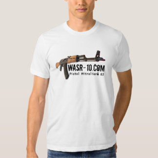 WWW.WASR-10.COM - Pistola Mitralieră 63 Camiseta