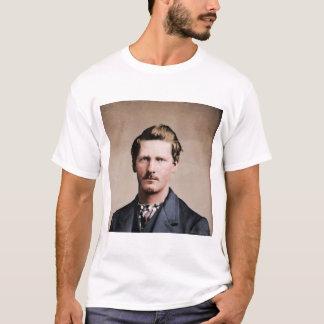 Wyatt joven Earp, colorized Camiseta