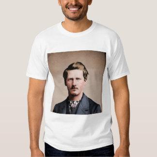 Wyatt joven Earp, colorized Camisetas