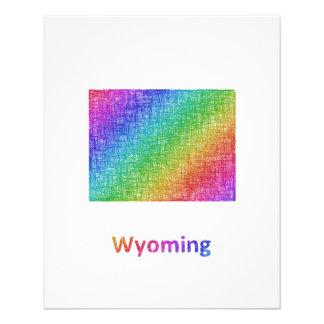 Wyoming Folleto 11,4 X 14,2 Cm
