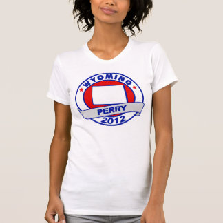 Wyoming Rick Perry Camisetas