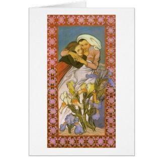 Wyspianski, Caritas (amor), 1904 Tarjeton