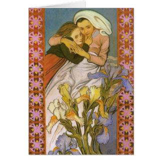 Wyspianski, Caritas (amor), 1904 Felicitación