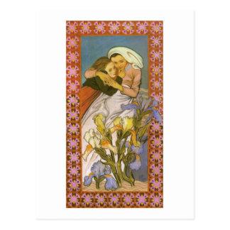 Wyspianski, Caritas (amor), 1904 Tarjetas Postales