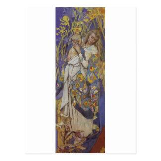 Wyspianski, Caritas (Madonna y niño), 1904 (1) Postal