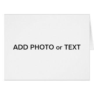 x foto o texto de la tarjeta del jumbo - cree sus