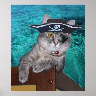 Xena como poster del pirata póster